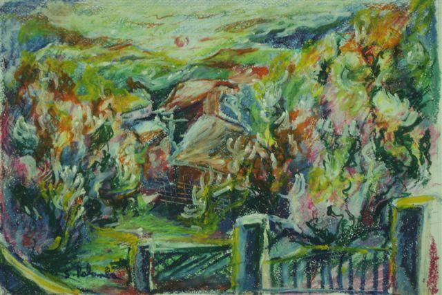 Tramonto a Villa Canale